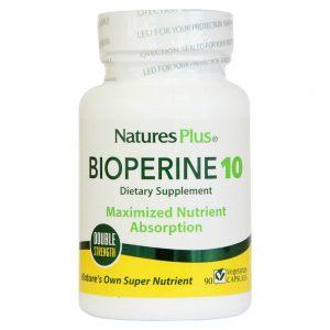 Nature's Plus Bioperine 10 60 Cápsulas   Comprar Suplemento em Promoção Site Barato e Bom