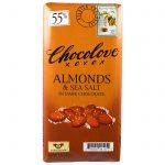 Chocolove, Amêndoas e Sal Marinho em Chocolate Meio-Amargo, 3,2 oz (90 g)   Comprar Suplemento em Promoção Site Barato e Bom