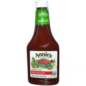 Annie's Naturals, Orgânico, Ketchup, 24 oz. (680 g.)   Comprar Suplemento em Promoção Site Barato e Bom