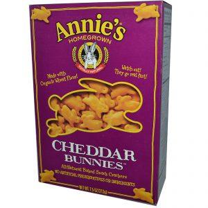 Annie's Homegrown, Coelhinhos de Cheddar, Bolachas Assadas, 7.5 oz (213 g)   Comprar Suplemento em Promoção Site Barato e Bom