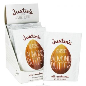 Justin's Nut Butter, Manteiga de Amêndoas Clássica, Totalmente Natural, 10 Pacotes de Apertar, 1,15 oz (32 g) por Pacote   Comprar Suplemento em Promoção Site Barato e Bom