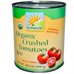 Bionaturae, Tomates Orgnânicos Triturados, 28.2 oz (800 g)   Comprar Suplemento em Promoção Site Barato e Bom