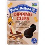 Peanut Butter & Co., Dipping Cups, Chocolate Amargo, 5 Unidades, 1,05 oz (43 g) Cada   Comprar Suplemento em Promoção Site Barato e Bom