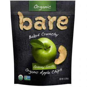 Bare Fruit, Baked Crunchy, Organic Apple Chips, Granny Smith , 3 oz (85 g)   Comprar Suplemento em Promoção Site Barato e Bom