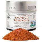 Gustus Vitae, Gourmet Seasoning, Taste of Morocco, 1.2 oz (34g)   Comprar Suplemento em Promoção Site Barato e Bom