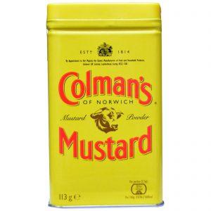 Colman's, Mostarda em Pó Duplo Superfino, 4 oz (113 g)   Comprar Suplemento em Promoção Site Barato e Bom