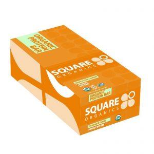 Square Organics, Barra de proteína orgânica, manteiga de amendoim com cobertura de chocolate, 12 barras, 48 g cada   Comprar Suplemento em Promoção Site Barato e Bom