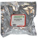 Frontier Natural Products, Mistura Orgânica Gourmet de Três Pimentas Moinho de Pimenta, 16 oz (453 g)   Comprar Suplemento em Promoção Site Barato e Bom