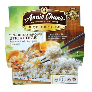 Annie Chun's, Arroz Expresso, Arroz Marrom Viscoso, 6.3 oz (180 g)   Comprar Suplemento em Promoção Site Barato e Bom