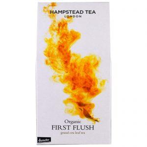 Hampstead Tea, Orgânico, Chá First Flush, 100 g   Comprar Suplemento em Promoção Site Barato e Bom