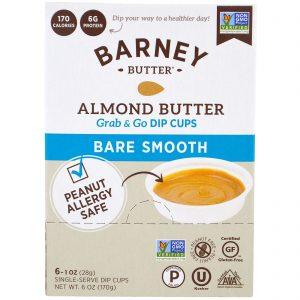 Barney Butter, Manteiga de Amêndoa, Recipientes com Dip Grab & Go, Consistência Lisa, 6 Recipientes Únicos para Dip, 1 oz (28 g) Each   Comprar Suplemento em Promoção Site Barato e Bom