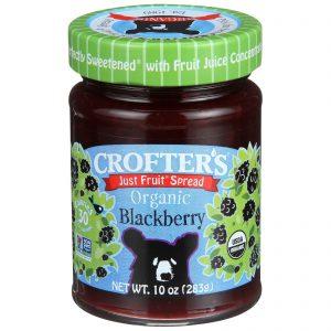 Crofter's Organic, Geleia de Frutas, Orgânica, Amora, 10 oz (283 g)   Comprar Suplemento em Promoção Site Barato e Bom