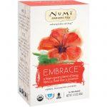 Numi Tea, Organic Tea, Herbal Tea, Embrace, No Caffeine, 16 Tea Bags, 1.41 oz (40 g)   Comprar Suplemento em Promoção Site Barato e Bom