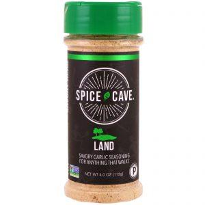 Spice Cave, Land, Tempero Saboroso de Alho, 113 g (4 oz)   Comprar Suplemento em Promoção Site Barato e Bom
