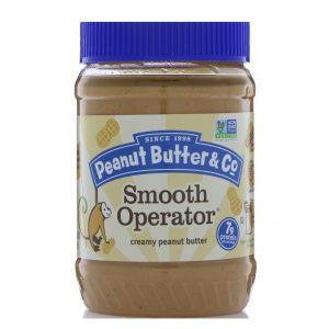 Peanut Butter & Co., Smooth Operator, Manteiga de Amendoim Cremosa, 16 oz (454 g)   Comprar Suplemento em Promoção Site Barato e Bom