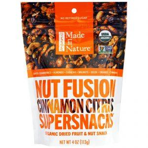 Made in Nature, Superlanche com Mistura de Frutos Secos, Canela Cítrica, 4 oz (113g)   Comprar Suplemento em Promoção Site Barato e Bom
