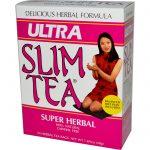 Hobe Labs, Chá Super-Herbáceo Ultra Slim, 24 Saquinhos, 48 g (1,69 oz)   Comprar Suplemento em Promoção Site Barato e Bom