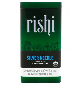 Rishi Tea, Folhas Soltas de Chá Branco Orgânico, Agulhas de Prata, 1.41 oz (40 g)   Comprar Suplemento em Promoção Site Barato e Bom