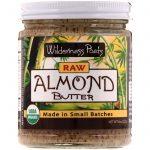 Wilderness Poets, Manteiga de Amêndoa Crua, 227 g (8 oz)   Comprar Suplemento em Promoção Site Barato e Bom