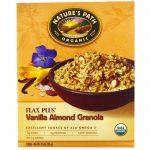 Nature's Path, Cereal de Granola de Linho Orgânico Plus, Amêndoa de Baunilha, 11.5 oz (325 g)   Comprar Suplemento em Promoção Site Barato e Bom