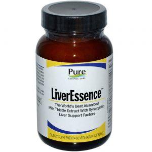 Pure Essence Labs Fígado Essence 60 Cápsulas   Comprar Suplemento em Promoção Site Barato e Bom