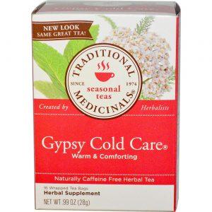 Traditional Medicinals Gypsy Cuidado Frio Chá 16 sacos   Comprar Suplemento em Promoção Site Barato e Bom