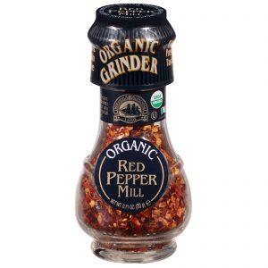 Drogheria & Alimentari, Organic Red Pepper Mill, 0.72 oz (20 g)   Comprar Suplemento em Promoção Site Barato e Bom