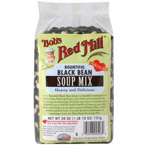 Bob's Red Mill, Generoso, Feijão Preto, Mix de Sopa, 26 oz (737 g)   Comprar Suplemento em Promoção Site Barato e Bom