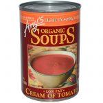 Amy's, Sopas Orgânicas, Creme de Tomate com Baixa Gordura, Sódio Leve, 14.5 oz (411 g)   Comprar Suplemento em Promoção Site Barato e Bom