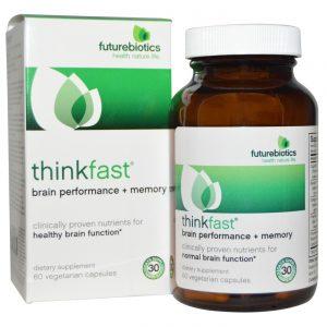 Futurebiotics ThinkFast 60 Cápsulas   Comprar Suplemento em Promoção Site Barato e Bom