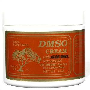 Nature's Gift DMSO Creme com Aloe Vera Rosa 4 oz   Comprar Suplemento em Promoção Site Barato e Bom