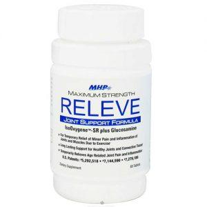 Maximum Human Performance Releve 60 Tabletes   Comprar Suplemento em Promoção Site Barato e Bom
