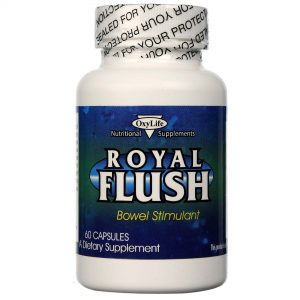 OxyLife Royal Flush Bowel Estimulante 60 Cápsulas   Comprar Suplemento em Promoção Site Barato e Bom