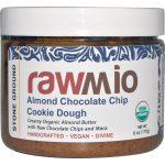 Rawmio, Biscoito de Chocolate e Amêndoa Massa Creme com Maca, 6 oz (170 g)   Comprar Suplemento em Promoção Site Barato e Bom