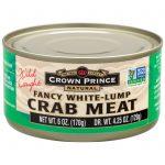 Crown Prince Natural, Carne de Caranguejo Fancy White, 6 oz (170 g)   Comprar Suplemento em Promoção Site Barato e Bom
