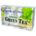 Uncle Lee's Tea, Lendas da China, Chá Verde, Jasmim, 100 sacos de chá, 5,64 oz. (160 g)   Comprar Suplemento em Promoção Site Barato e Bom