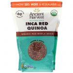 Ancient Harvest, Inca Red Quinoa, 14.4 oz (408 g)   Comprar Suplemento em Promoção Site Barato e Bom