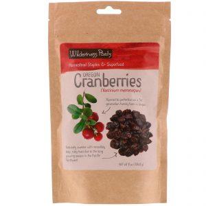 Wilderness Poets, Oregon Cranberries, 8 oz (226.8 g)   Comprar Suplemento em Promoção Site Barato e Bom