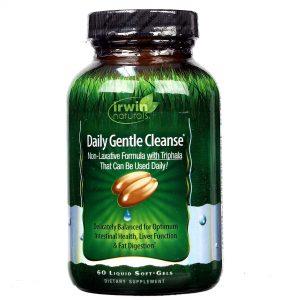 Irwin Naturals Diário Gentle Cleansing & Digestão 60 Géis   Comprar Suplemento em Promoção Site Barato e Bom