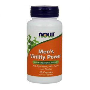 Men's Virility Power Now Foods 60 Cápsulas   Comprar Suplemento em Promoção Site Barato e Bom
