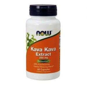 Now Foods Kava Kava Extract 250 mg 60 Cápsulas   Comprar Suplemento em Promoção Site Barato e Bom