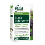 Gaia Herbs Preto Sabugueiro - 30 Vegetarian Liquid Phyto-Cápsulas   Comprar Suplemento em Promoção Site Barato e Bom