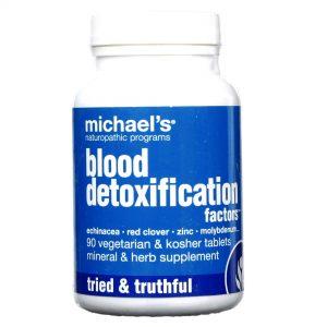 Fatores Desentoxificação do Sangue Michael's 90 Tabletes   Comprar Suplemento em Promoção Site Barato e Bom