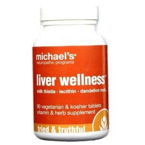 Michael's Fígado Wellness 90 Tabletes   Comprar Suplemento em Promoção Site Barato e Bom