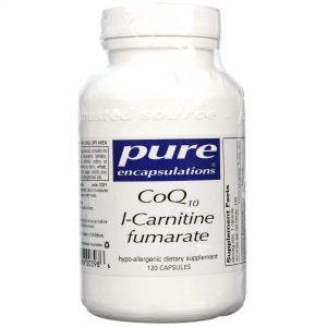Pure EnCápsulasulations CoQ10 L-Carnitina 120 Cápsulas   Comprar Suplemento em Promoção Site Barato e Bom