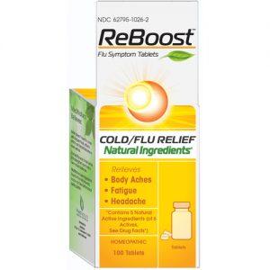 MediNatura ReBoost Flu Symptom Tabletes - 100 Tabletes   Comprar Suplemento em Promoção Site Barato e Bom