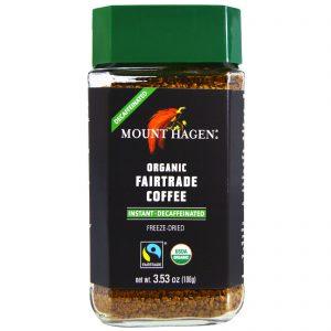 Mount Hagen, Café Orgânico Fairtrade, Instantâneo, Descafeinado, 3,53 oz (100 g)   Comprar Suplemento em Promoção Site Barato e Bom