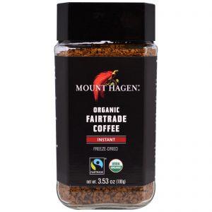 Mount Hagen, Café Fairtrade Orgânico, Instantâneo, Freeze Dried, 3,53 oz (100 g)   Comprar Suplemento em Promoção Site Barato e Bom