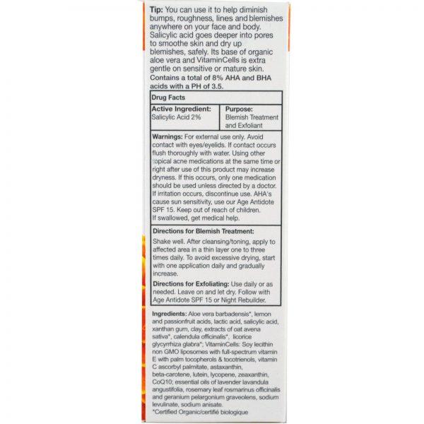 Ecco Bella, Esfoliante Invisível e Remédio para Cicatrizes Sem Enxágue, 3, 60 ml (2 fl oz)   Comprar Suplemento em Promoção Site Barato e Bom