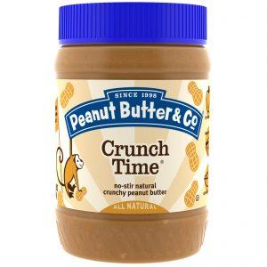 Peanut Butter & Co., Crunch Time, Manteiga de Amendoim Crocante, 16 oz (454 g)   Comprar Suplemento em Promoção Site Barato e Bom